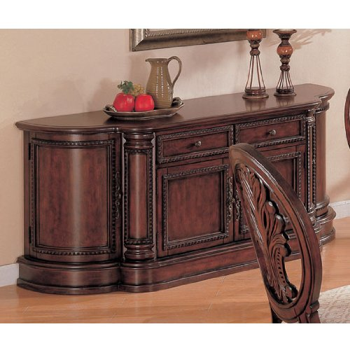 Cheap Traditional Dining Buffet in Deep Rich Cherry Finish (COAS101034B)