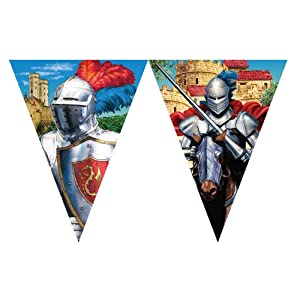 Creative Converting Valiant Knight Party Flag Banner from Creative Converting