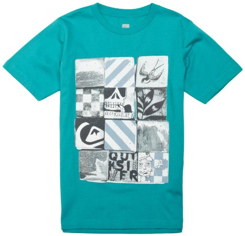 quiksilver-screenline-basic-t-shirt-a-manches-courtes-pour-homme-14-ans-turquoise-turquoise