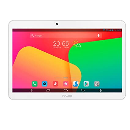 "InnJoo F2 Tablette Cortex A7 Android 4.4 Blanc 10,1"" 1 Go RAM 8 Go mémoire interne"