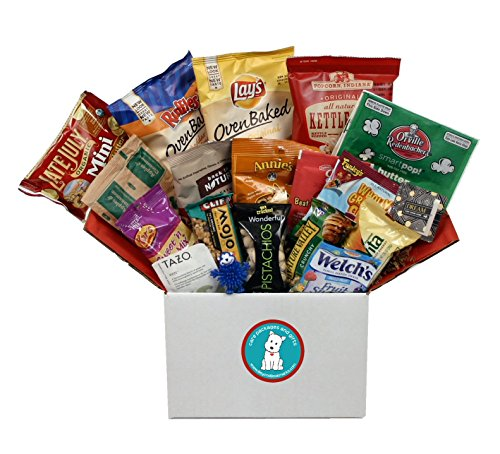Healthy Snack Attack Value Pack - Healthier College Care Package Or Student Gift