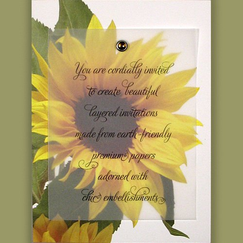 SUNFLOWER WEDDING INVITATIONS WEDDING INVITATIONS SUNFLOWER - Sunflower wedding invitations templates