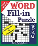 Large Print Word Fill-In Puzzle Book 2