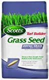 Scotts 18362 Turf Builder Zoysia Grass Seed and Mulch, 5-Pound