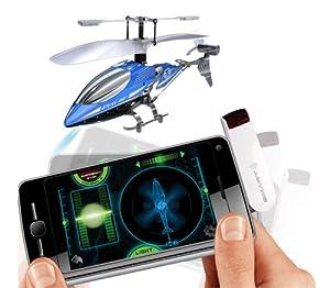 Silverlit 84618 - Nanocoptero Smartcopter (air raiders, helicóptero radiocontrol, compatilbe con Apple y smartphone, 3 canales, giróscopo, vuelo interior) - Surtido: diferentes colores o personajes