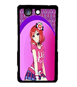 Fuson 2D Printed Girly Designer back case cover for Sony Xperia Z4 Compact - D4609