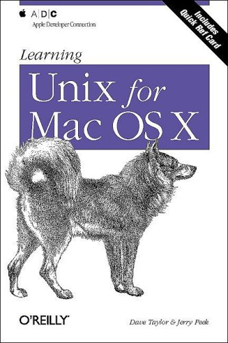 Learning Unix for the Mac OS X