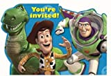 Disney Toy Story 3 Party Invitations With Envelopes - 8 Pack
