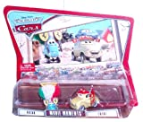 Disney Pixar Cars Movie Moments 2 Pack Car Set - Guido and Luigi (K5928-0981)
