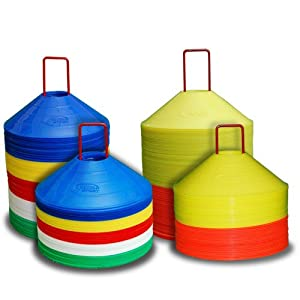 World Sport Multi Color 100 Disc Cone Set with Carrier