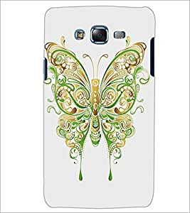 PrintDhaba Butterfly D-5360 Back Case Cover for SAMSUNG GALAXY J7 (Multi-Coloured)