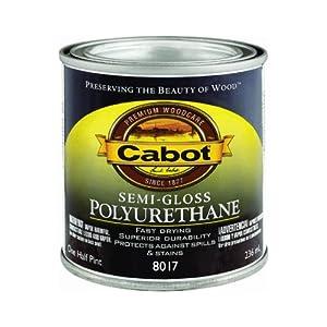 Valspar 144.0008017.003 Cabot Interior Oil-Based Polyurethane