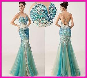 Amazon.com : Sexy Long Mermaid Prom Dresses Vestidos De Noche Vestidos