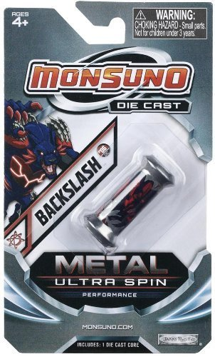 Monsuno Die Cast Metal Ultra Spin Core Backslash