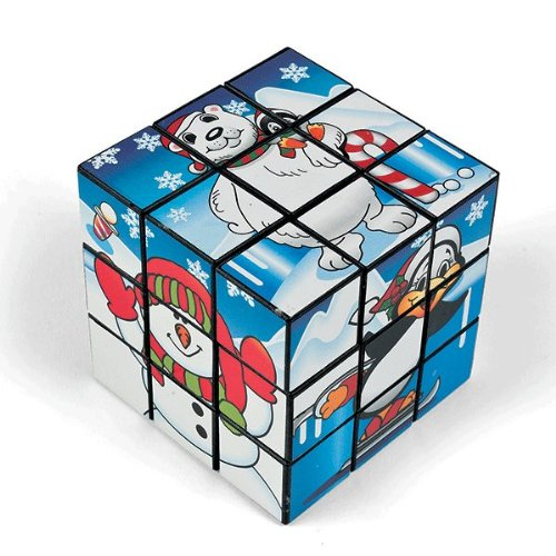 Polar Bear Christmas Magic Cube