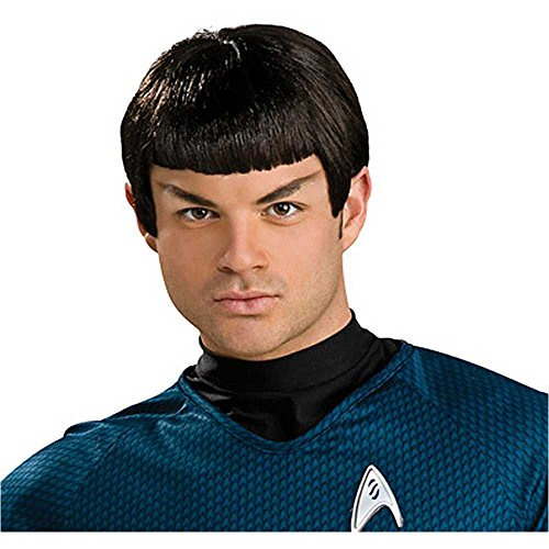 Star Trek Spock Latex Wig & Ears - One Size