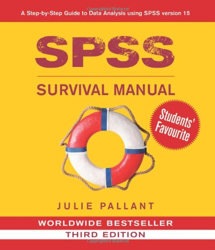 How to download spss survival manual a step by step guide to data