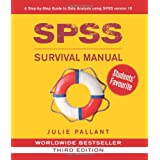 SPSS Survival Manual: A Step by Step Guide to Data Analysis Using SPSS for Windows (Version 15)by Julie Pallant