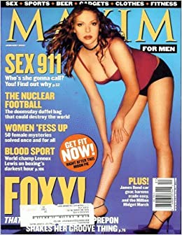 Maxim 2001 January - Laura Prepon: maxim: Amazon.com: Books