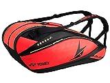 ヨネックス(YONEX) バッグ ラケットバッグ6(リュック付) BAG12LD 212:ブライトレッド