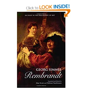 rembrandt an essay in the philosophy of art Georg simmel rembrandt an essay in the philosophy of art georg simmel, rembrandt: an essay in the philosophy of art , first published in 1916 in german, rembrandt.