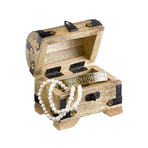 Kleine-Holztruhe-Holzkiste-als-Schatztruhe-Schmuckkstchen-oder-Spardose-helles-Holz-10-cm-x-7-cm-x-9-cm