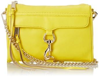 Rebecca Minkoff Mini MAC Convertible Cross Body Bag,Marigold,One Size