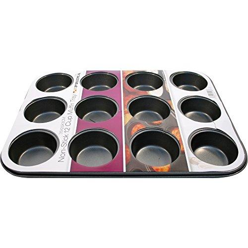 Prima - 15108C - Moule à cupcakes - 35 x 26 x 3 - anti-adhésif