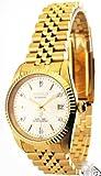 Man's Goldtone Bracelet Watch