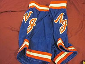 New Jersey Nets NBA Basketball GameUsed Shorts by Hollywood Collectibles