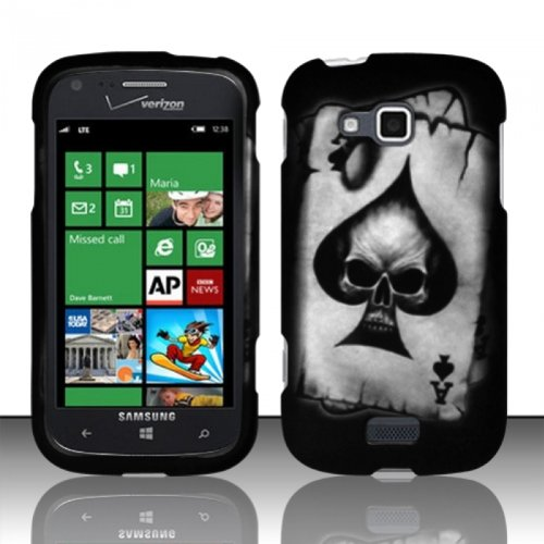 Click to buy Samsung ATIV Odyssey i930 Case (Verizon) Electrifying Skull Hard Cover Protector with Free Car Charger + Gift Box By Tech Accessories - From only $16.4