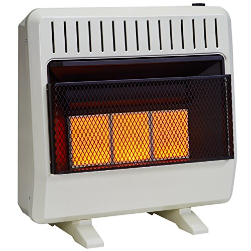Avenger Dual Fuel Vent Free Infrared Heater - 30,000 BTU, Model# FDT3IR (Propane Infrared Heater Indoor compare prices)