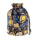 Vera Bradley Ditty Bag in Ellie Blue