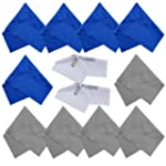 Eco-Fused Microfiber Cleaning Cloths...