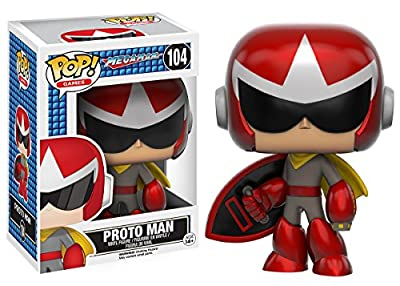 Funko POP Games: Mega Man - Proto Man Action Figure by Funko