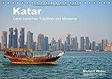 Katar - Land zwischen Tradition und Moderne (Tischkalender 2016 DIN A5 quer): Katar, das bedeutet Tradition gepaart mit Moderne, reiche Scheichs und ... Halbinsel. (Monatskalender, 14 Seiten)