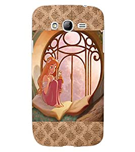 ColourCraft Lovely Princess Design Back Case Cover for SAMSUNG GALAXY GRAND NEO PLUS I9060I