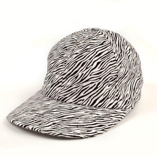 Madcapz Women's Baseball Cap Golf Hat - EZ Zebra Madcapz
