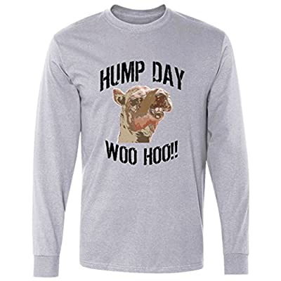 hump day woo hoo camel face Long Sleeve T-Shirt