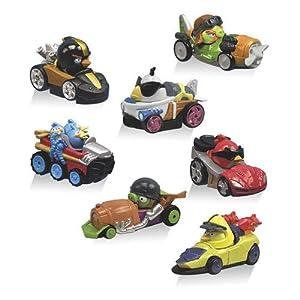 Angry Birds - 1 x Go Kart Tele Pod - ALEATOIRE - Style et Couleur Peuvent Varier