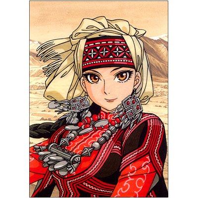 乙嫁語り|アニメイト特典クリアカード ◆アミル・ハルガル|森薫 ハルタ ビームコミックス