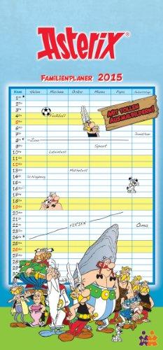 Asterix & Obelix. Familienplaner 2015, Buch