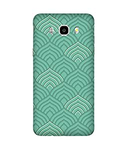 Green India Textile Printed Back Cover Case For Samsung Galaxy J5