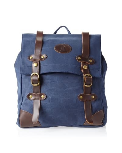 J.Campbell Los Angeles Men's Long Beach Waxed Canvas Backpack
