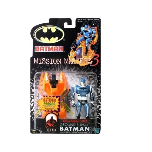 Batman: The New Batman Adventures Mission Masters 3 Ground Pursuit Batman Action Figure - 1