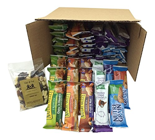Healthy-Bar-Snack-Mix-Sweet-Salty-50-Granola-Bar-Bundle-Special-K-Kashi-Nature-Valley-Bonus-Guy-Gal-Energy-Mix