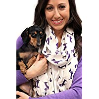 Women's Bella Dachshund Dog Print Fas…