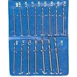 SE - Drill Set - Mini, Sizes: 1.05 1.1 1.15 1.2 1.25 1.3, 15 Pc