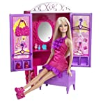 Barbie Dress-up To Make-up Closet Doll