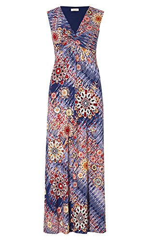 m-s-marks-spencer-per-una-estate-maxi-vestito-ikat-fit-flare-reg-o-lungo-blue-red-46-lungo